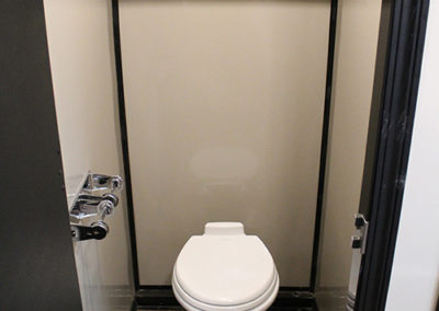 5 Stall Executive Restroom | Central Alberta Wedding Rentals