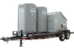 Combo Unit and Porta Potty Rental | Central Alberta | Go Services Inc.
