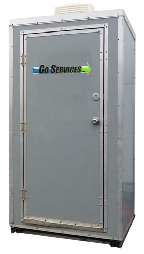 Heated Porta-Potty and Toilet Rental | Go Services Inc. | Alberta