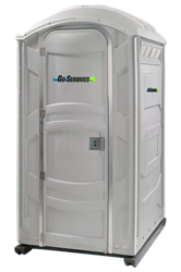 commercial rentals go services inc portable toilet standard
