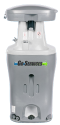 commercial rentals go services inc handwash station