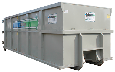 go services inc full site services waste bin