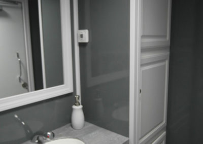 2 Stall Executive Restroom | Central Alberta Wedding Rentals