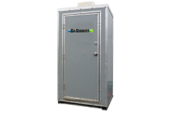 Heated Porta Potty Rental | Central Alberta | Go Services Inc.