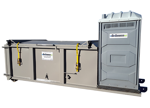 Skidded Combo Units | Central Alberta Rentals | Go Services Inc.