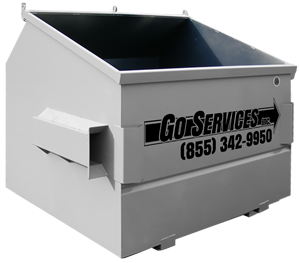 go services inc. equipment rentals roll off waste bin