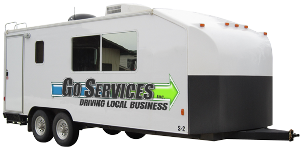 Office Trailer Rentals | Go Services Inc. | Central Alberta
